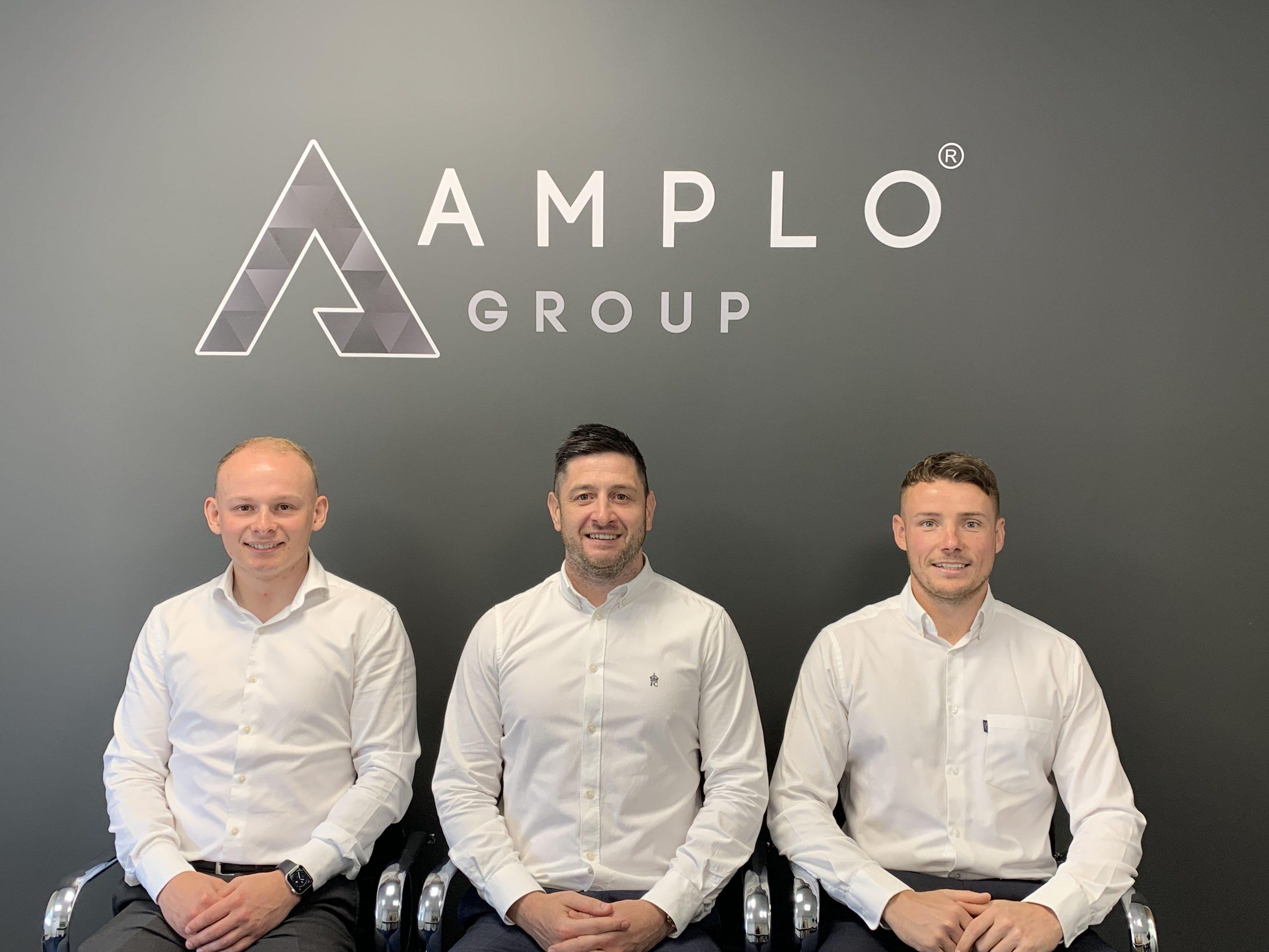 Amplo Commercial Directors - Mike, Scott and Matt