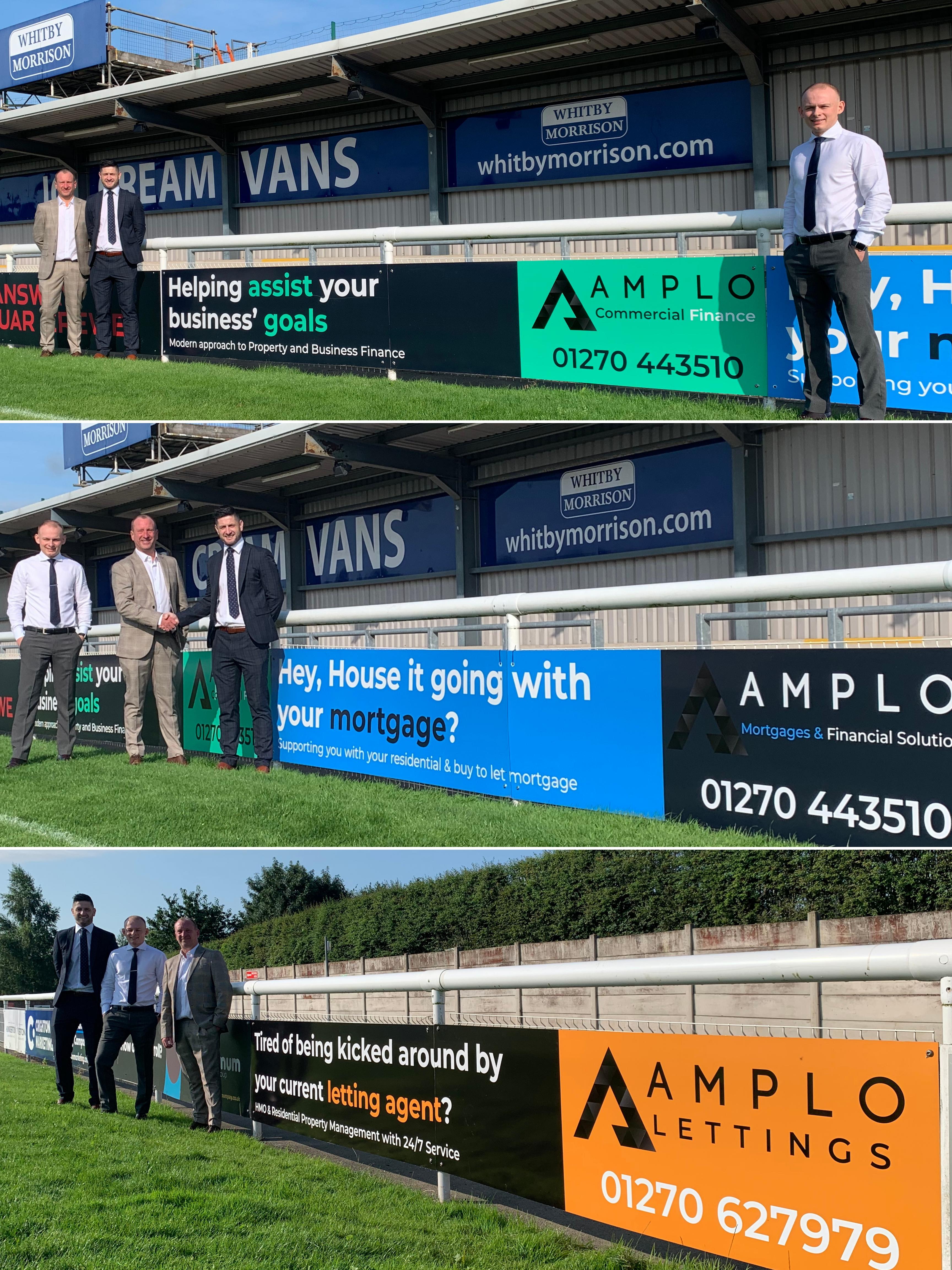 Amplo Group Sponsoring Nantwich Town FC