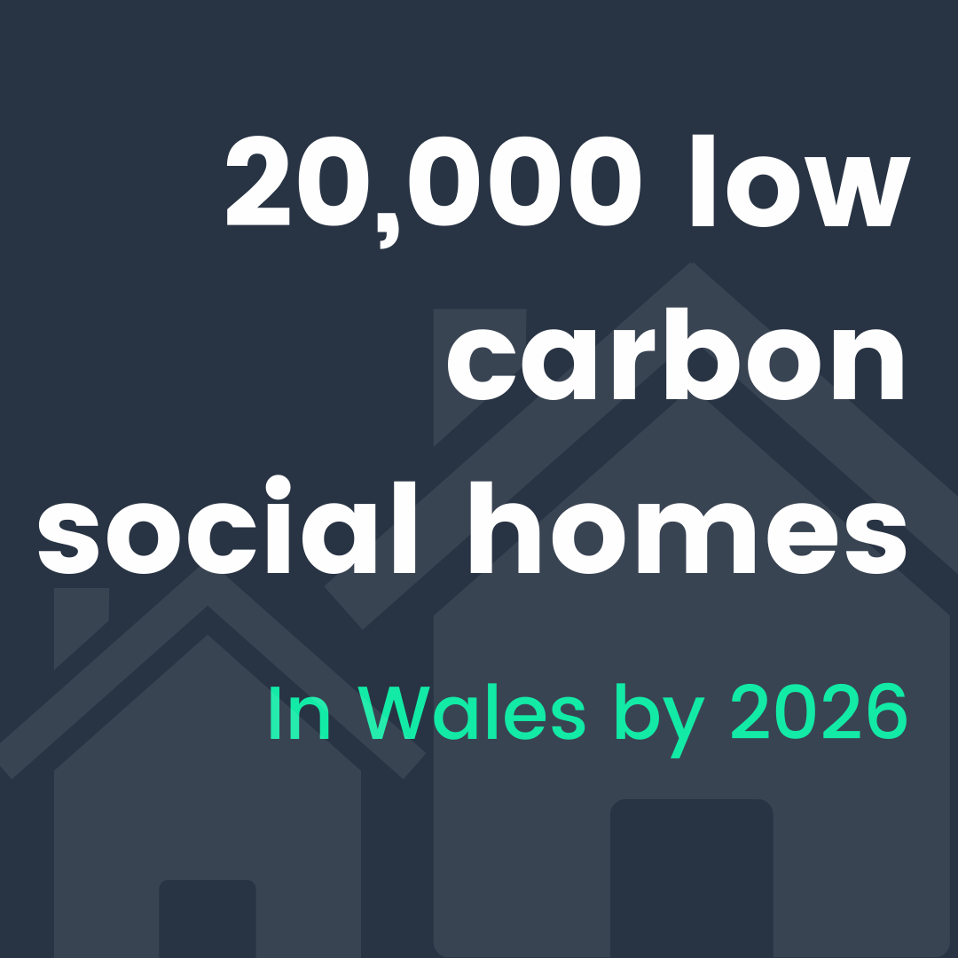 20,000 New Social Homes in Wales by 2026